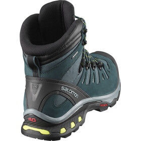 Salomon M's Quest 4D 3 GTX Shoes Mallard Blue/Reflecting Pond/Acid Lime